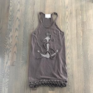 3.1 Phillip Lim Wool/Cotton Anchor Dress XS